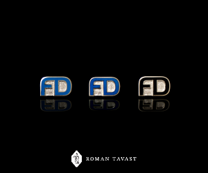 lapel pins with a logo