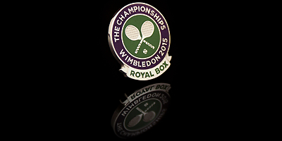 Wimbledon Royal Box Lapel Pin by Roman Tavast