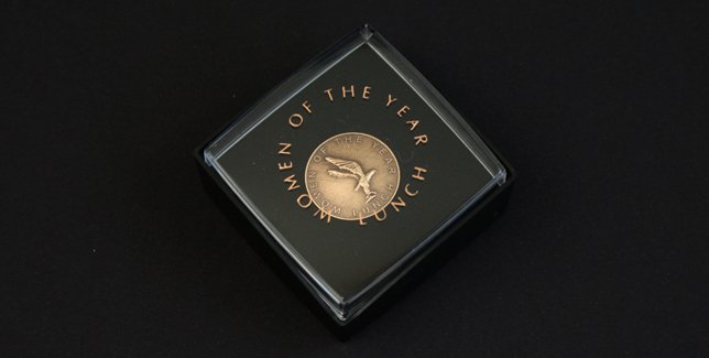Women of the Year Lapel Pin Presentation Box