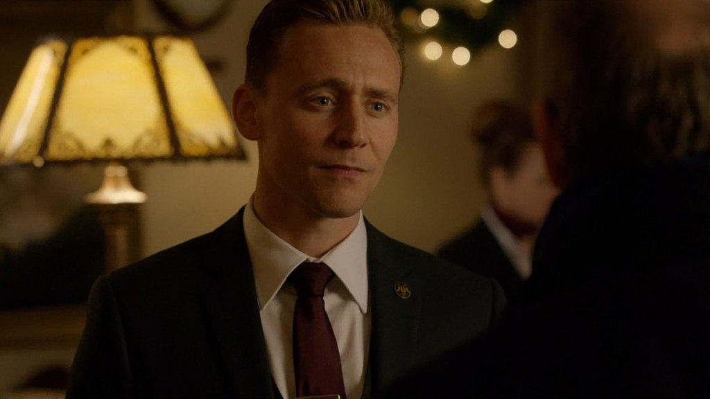 The Night Manager Tom Hiddleston lapel pin by Roman Tavast