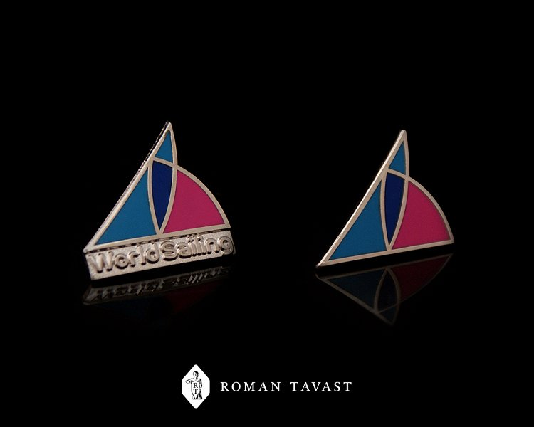 World Sailing Promotional Lapel Pins
