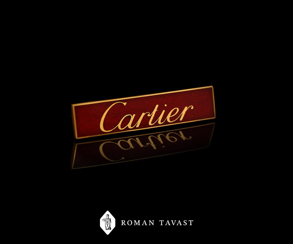 Cartier lapel pin