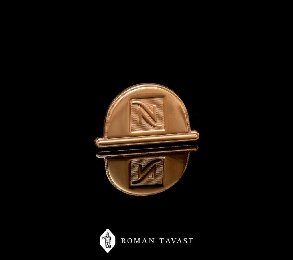 Nespresso lapel pin