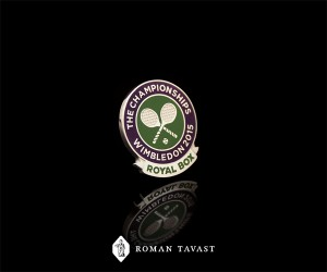 Wimbledon Royal Box Lapel Pin