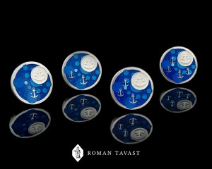 Years of Service Pins for Port of Tallinn