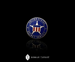 Secret Service Lapel Pin for the London Has Fallen Movie